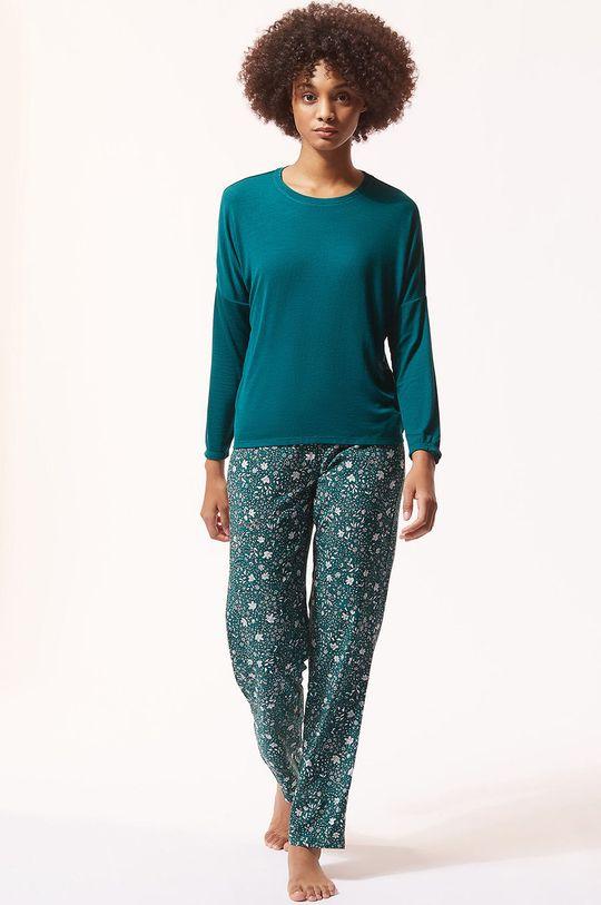 Etam - Spodnie piżamowe MILLIE cyraneczka
