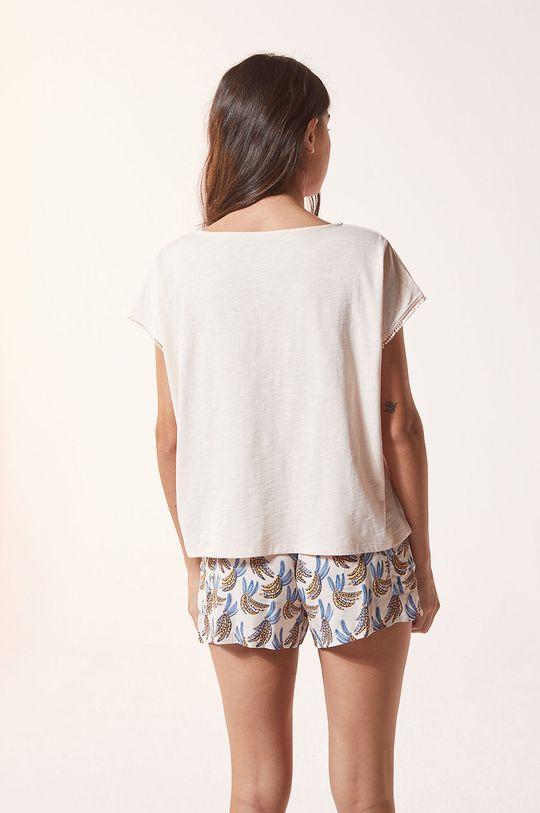 Etam - T-shirt piżamowy Aimee 100 % Bawełna