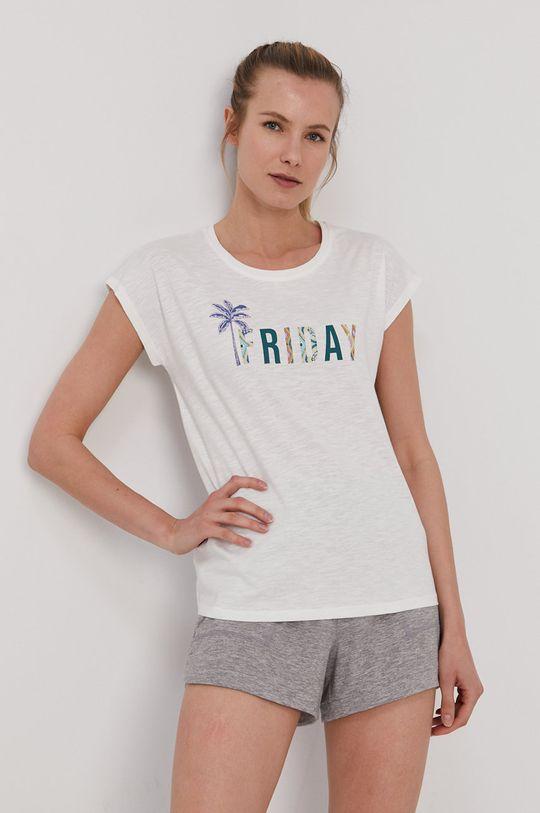 biały Etam - Top piżamowy Myana Damski