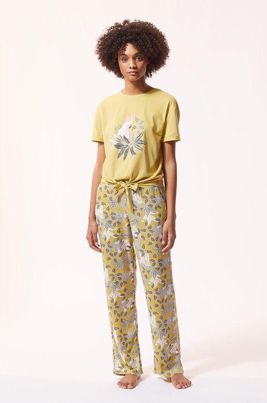 Etam - T-shirt piżamowy IRMA beżowy