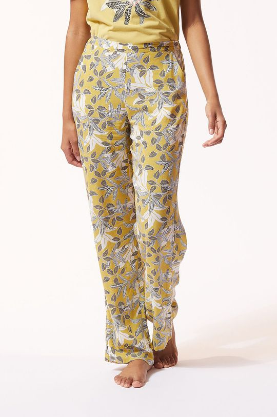 béžová Etam - Pyžamové kalhoty ILMA