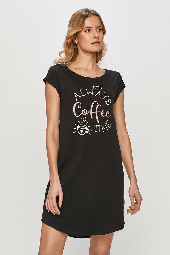 čierna Henderson Ladies - Nočná košeľa Dámsky