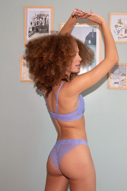 Undiz - Kalhotky brazilky ANONYMIZ světle modrá