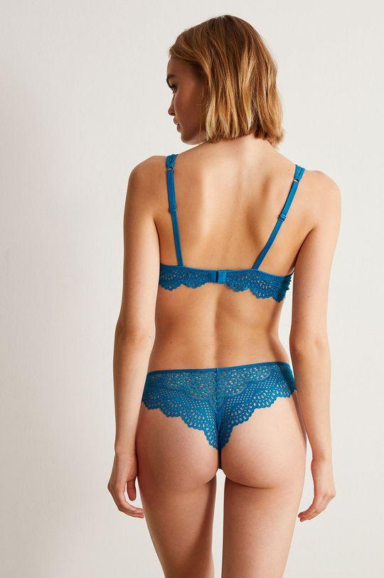 Undiz - Kalhotky brazilky LACETRIMIZ modrá