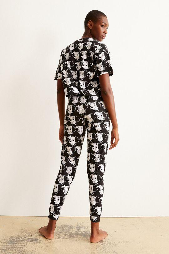 Undiz - Pyžamové tričko BICODALMIZ černá