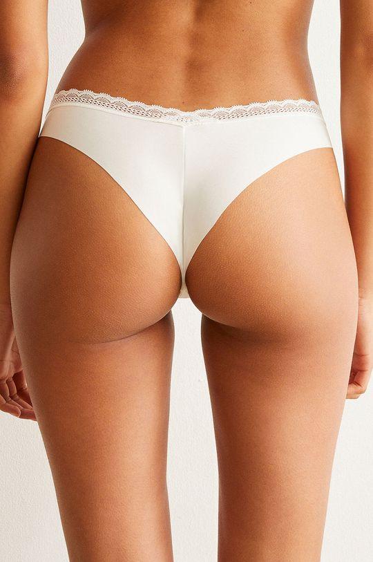Undiz - Kalhotky brazilky BARAKAKIZ bílá