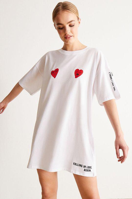 bílá Undiz - Noční košilka LOVEGRAFFIZ Dámský