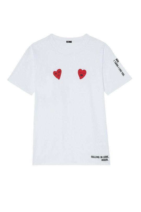 Undiz - Noční košilka LOVEGRAFFIZ  100% Organická bavlna