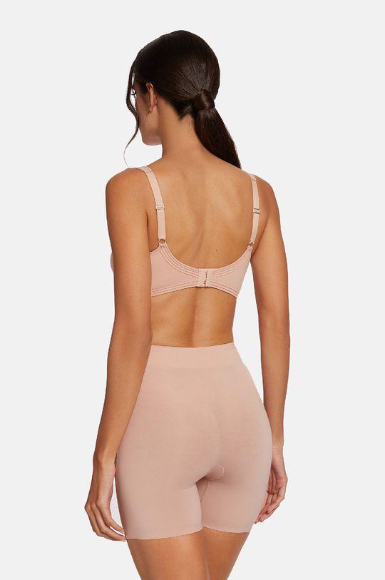 różowy Wolford - Szorty modelujące Cotton Contour