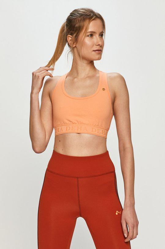 pomarańczowy Deha - Biustonosz sportowy Damski
