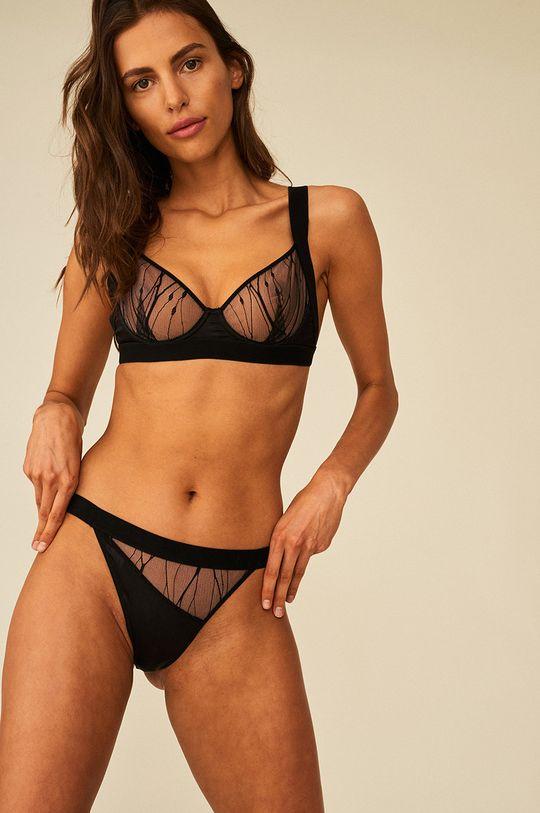 Undress Code - Tangá DREAM ON  1. látka: 100% Polyester 2. látka: 15% Elastan, 85% Polyamid 3. látka: 10% Elastan, 90% Hodváb