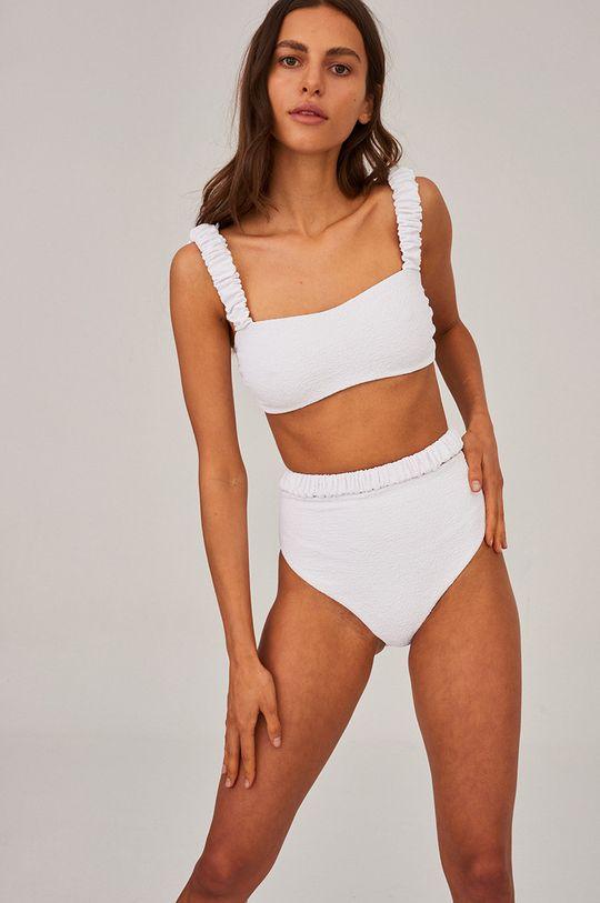 biały Undress Code - Figi kąpielowe Good Luck Charm Damski