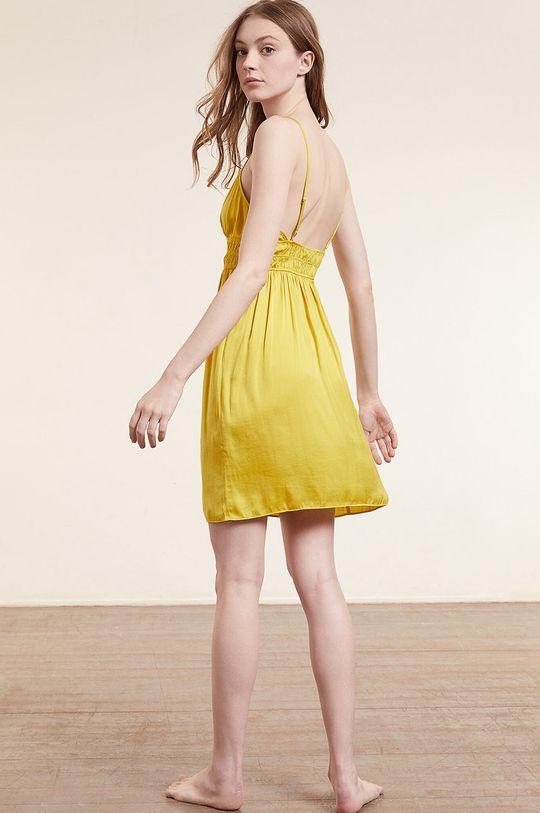 Etam - Noční košilka IZABELLA jasně žlutá