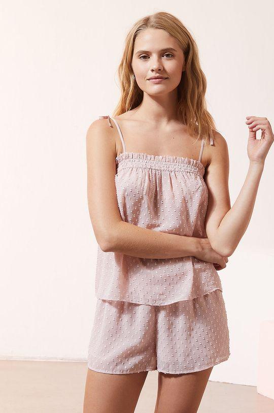 ružová Etam - Pyžamový top Honeymoon Dámsky