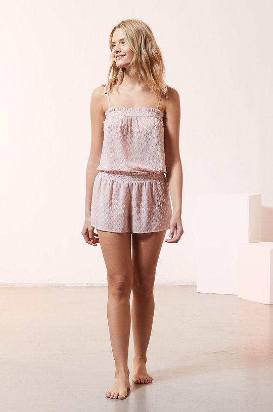 Etam - Szorty piżamowe Honeymoon różowy
