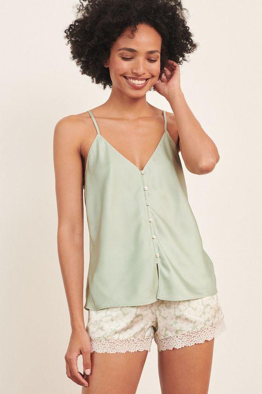 jasny zielony Etam - Top piżamowy Naim Damski