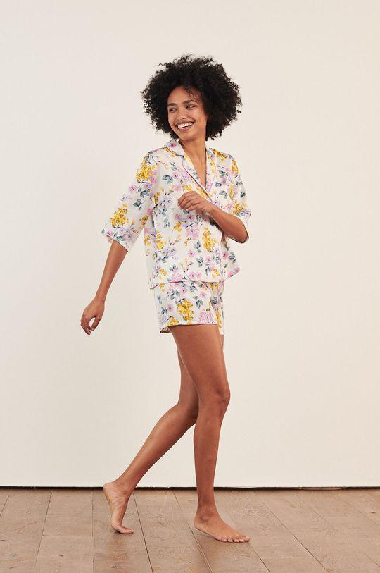 Etam - Pyžamová košeľa Naim biela
