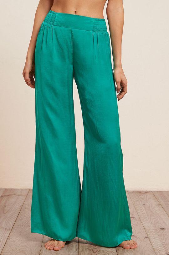zielony Etam - Spodnie piżamowe Agrume Damski