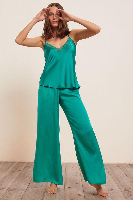 Etam - Spodnie piżamowe Agrume zielony