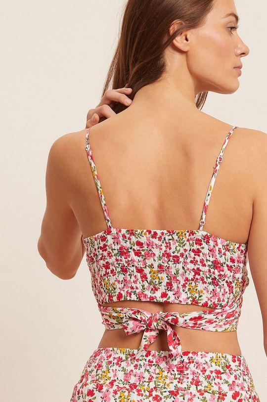 biały Etam - Top piżamowy Primula V2