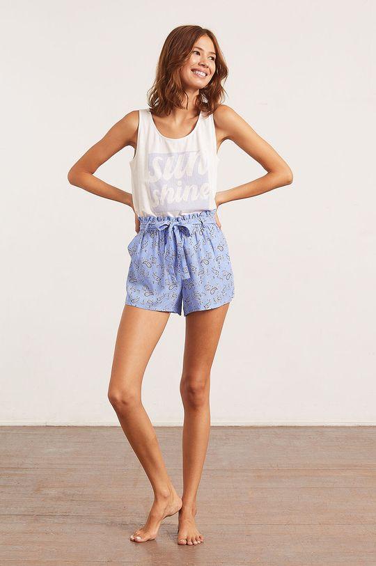 Etam - Top piżamowy Bao biały