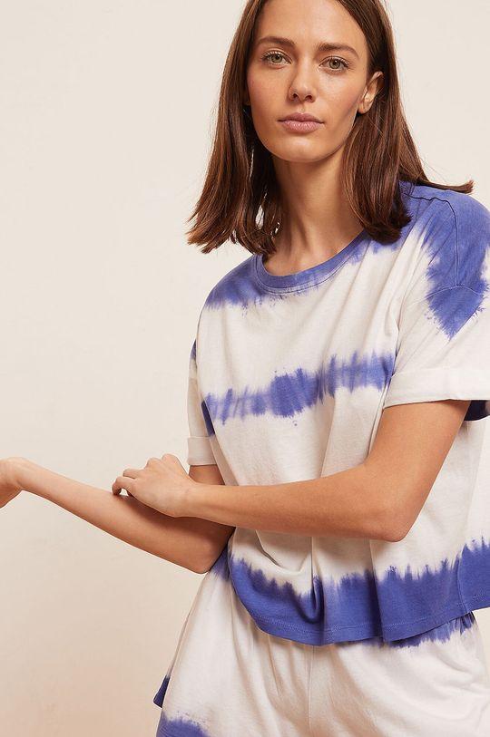 modrá Etam - Pyžamové tričko Alena