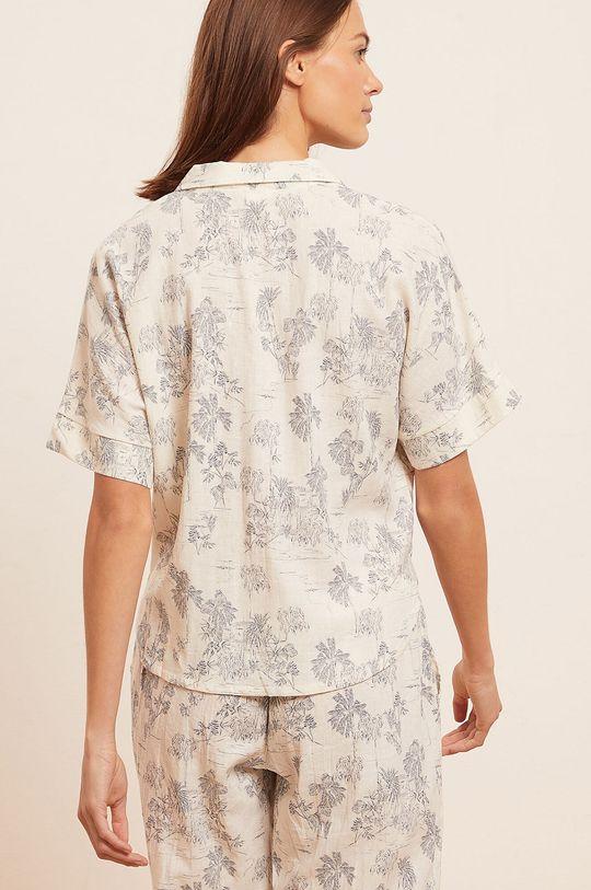 Etam - Pyžamová košeľa Ally  55% Ľan, 45% Viskóza