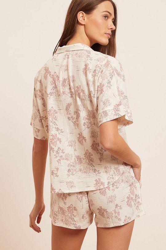 Etam - Koszula piżamowa Ally 55 % Len, 45 % Wiskoza