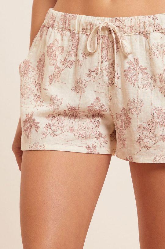 czerwony róż Etam - Szorty piżamowe Ally