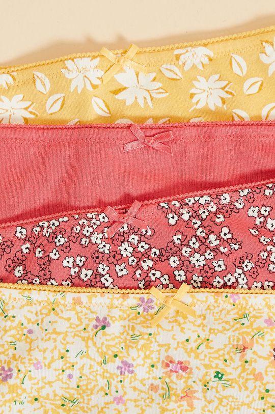 czerwony Etam - Figi Nell (4-pack)