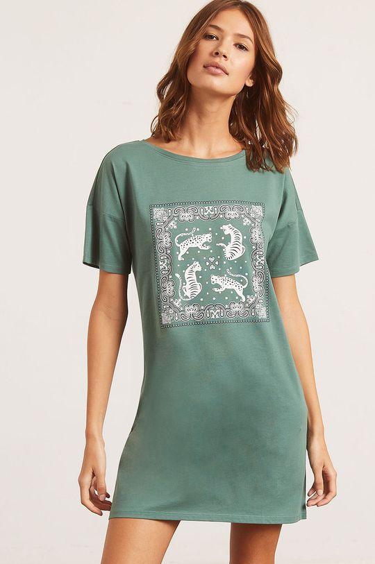 zelená Etam - Nočná košeľa Banna Dámsky