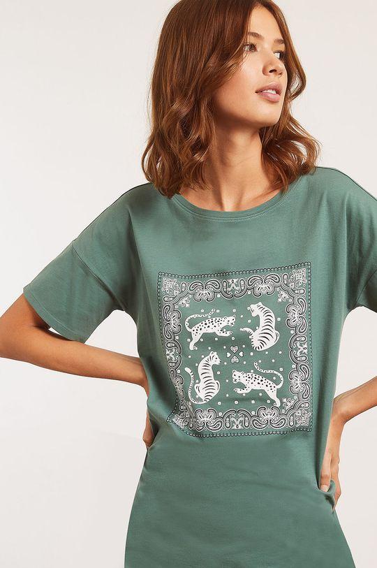 zelená Etam - Nočná košeľa Banna