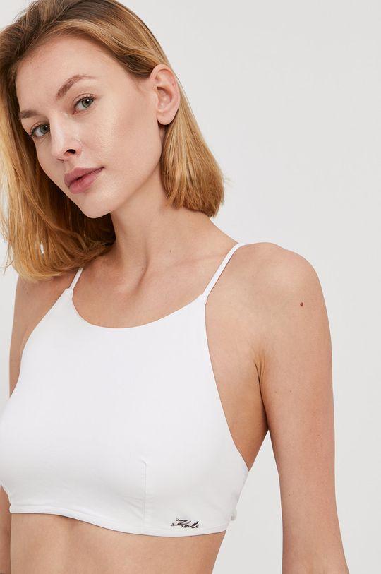 Karl Lagerfeld - Strój kąpielowy biały