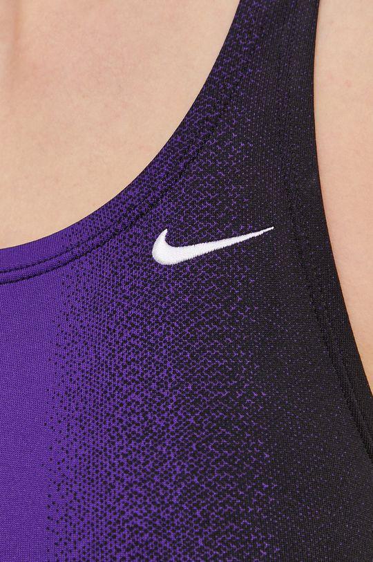 fioletowy Nike - Strój kąpielowy