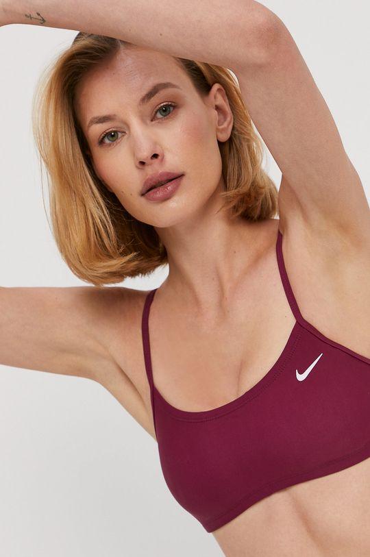 Nike - Strój kąpielowy kasztanowy