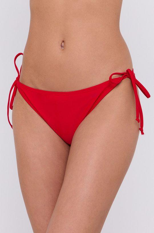czerwony 4F - Figi kąpielowe Damski