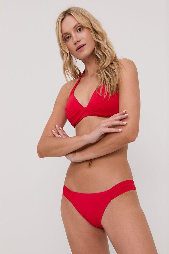 czerwony United Colors of Benetton - Strój kąpielowy Damski
