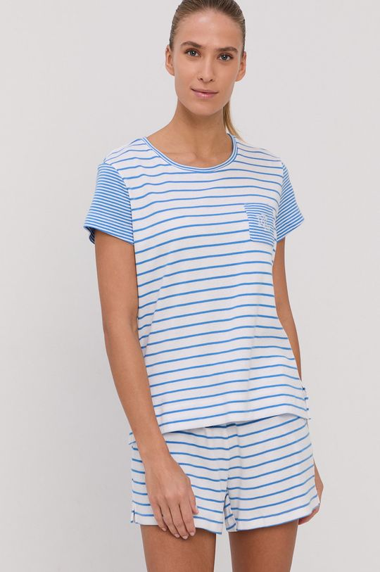 Lauren Ralph Lauren - Piżama niebieski