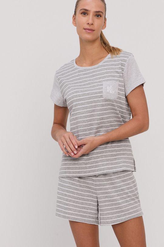 Lauren Ralph Lauren - Piżama szary