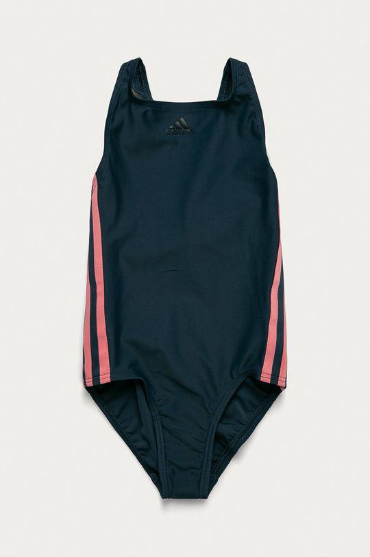 granatowy adidas Performance - Strój kąpielowy dziecięcy 92-170 cm Dziewczęcy