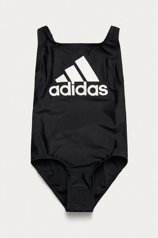 čierna adidas Performance - Detské plavky 92-170 cm Dievčenský
