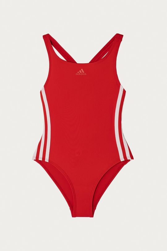 czerwony adidas Performance - Strój kąpielowy dziecięcy 92-164 cm Dziewczęcy