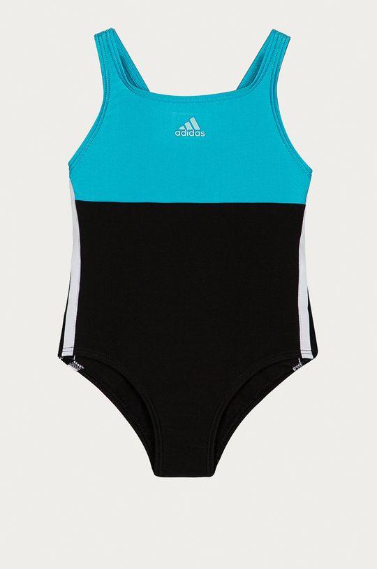 czarny adidas Performance - Strój kąpielowy dziecięcy 92-170 cm Dziewczęcy