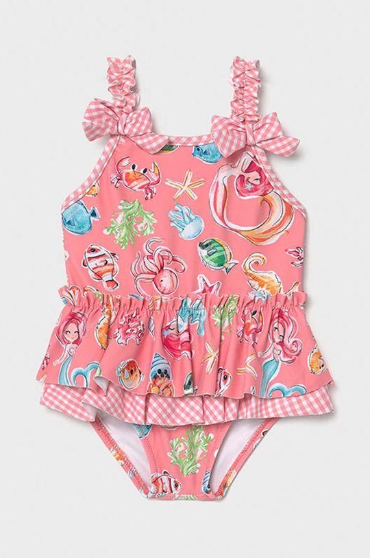 różowy Mayoral - Strój kąpielowy dziecięcy Dziewczęcy