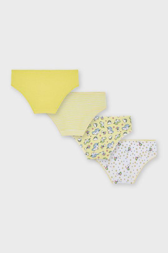 Mayoral - Figi dziecięce (4-PACK) żółty
