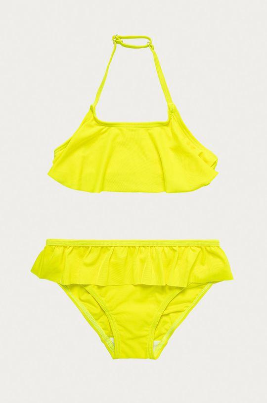 żółty Name it - Strój kąpielowy dziecięcy 122-164 cm Dziewczęcy