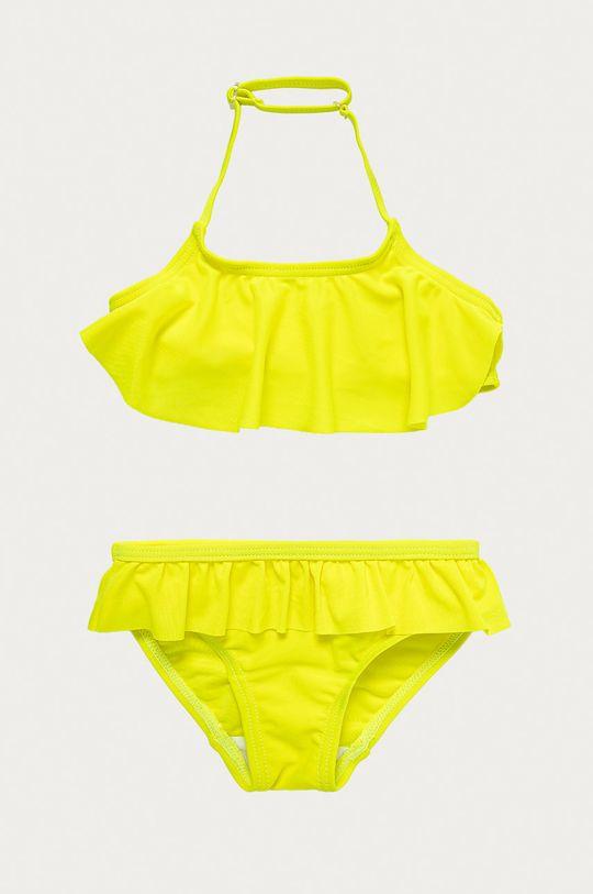 żółty Name it - Strój kąpielowy dziecięcy 86-116 cm Dziewczęcy