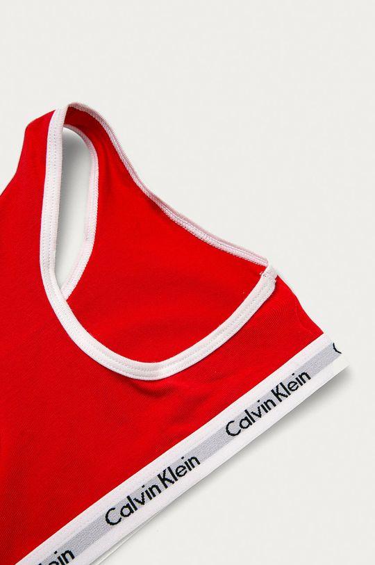 Calvin Klein Underwear - Biustonosz dziecięcy (2-pack) czerwony