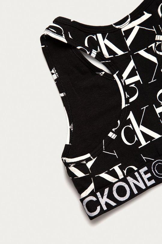 czarny Calvin Klein Underwear - Biustonosz sportowy dziecięcy (2-pack)