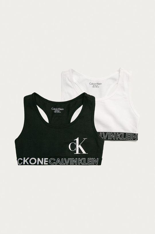 multicolor Calvin Klein Underwear - Biustonosz sportowy dziecięcy (2-pack) Dziewczęcy